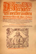 Deutscher Thesaurus von Sir Martin  Luther