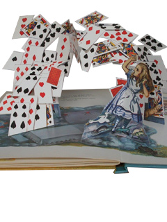 Alice in Wonderland Pop-Up-Buch