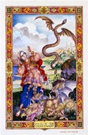 The Arabian Nights Entertainments illustriert von Arthur Szyk