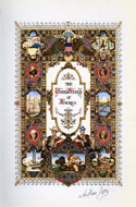 Visual History of the United States illustriert von Arthur Szyk