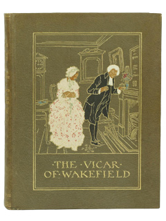 The Vicar of Wakefield von Oliver Goldsmith