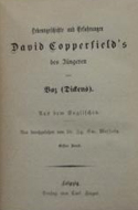 David Copperfield von Boz (Charles Dickens)