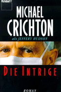 Die Intrige von Jeffrey Hudson (Michael Crichton)