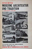 Moderne Architektur und Tradition von Peter Meyer